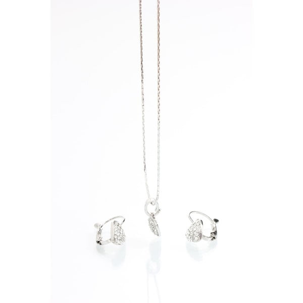 Komplet biżuterii z kryształami Swarovski Elements Laura Bruni Isabelle