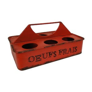 Pudełko na jajka Antic Line Rouge Oeufs