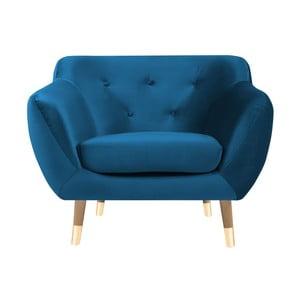 Niebieski fotel Mazzini Sofas Amelie