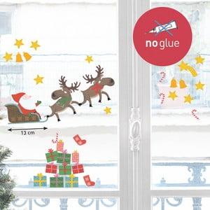 Elektrostatyczna naklejka Le Père Noël