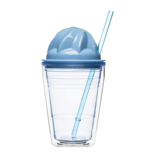 Niebieski kubek na smoothie Sagaform