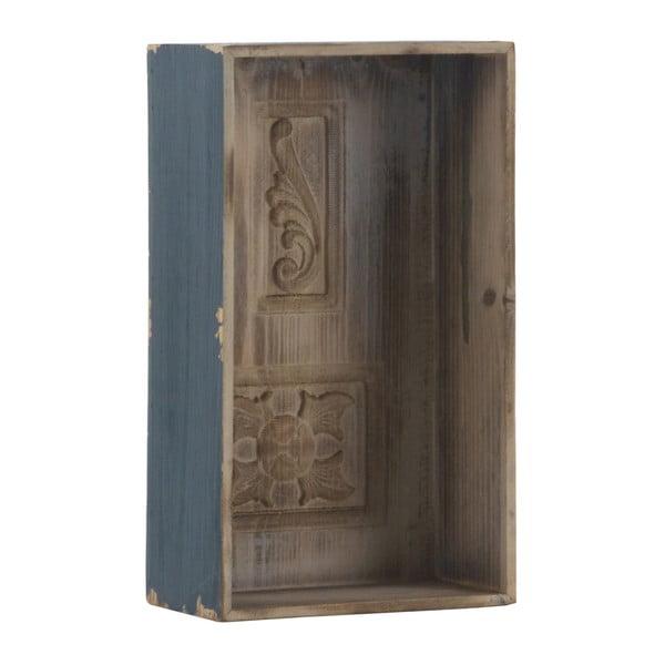 Niebieska półka Geese Box