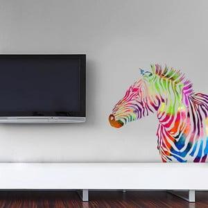 Naklejka Color Zebra, 70x50 cm