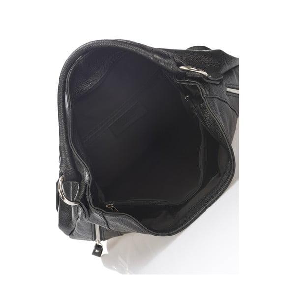 Czarna torebka skórzana Markese Savino