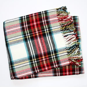 Koc Scott Plaid White, 140x180 cm