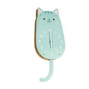 Zegar drewniany Rex London Cookie The Cat