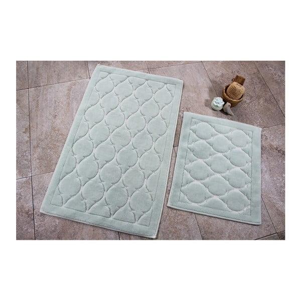 Zestaw 2 dywaników łazienkowych Alessia Dante Mint