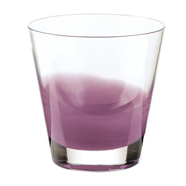 Lawendowa niska szklanka Fratelli Guzzini Mirage