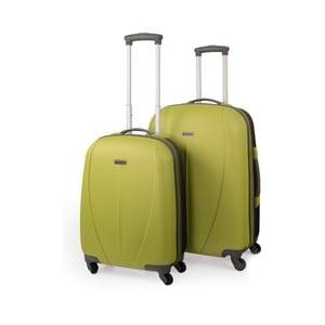 Zestaw 2 walizek Tempo, zielony