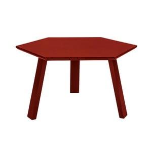 Stolik Hexagon Red, 70x37x70 cm