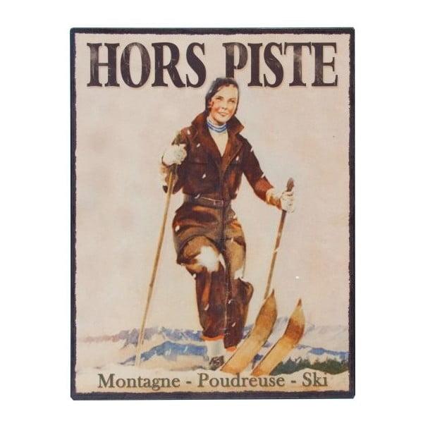 Tabliczka  Antic Line Hors Piste,25x33cm