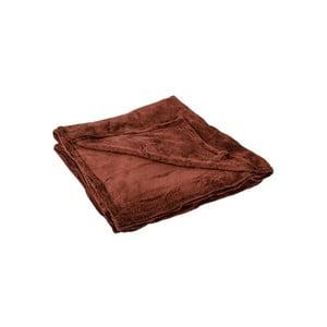 Narzuta na łóżko Sherpa Chocolate, 220x240 cm