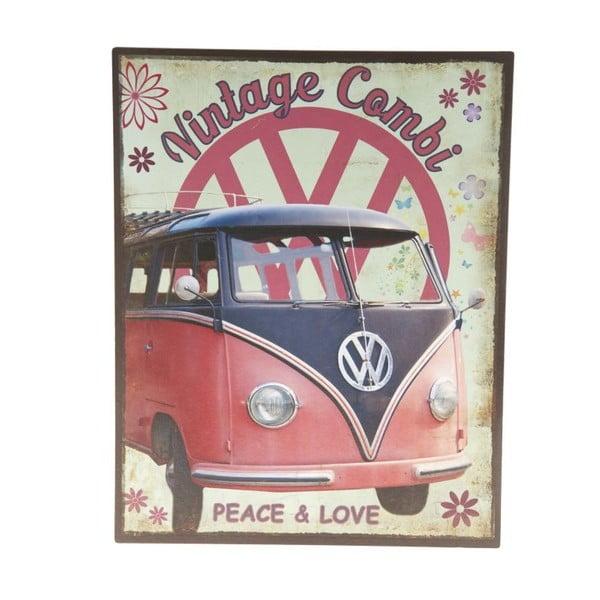 Blaszana tablica Vintage Combi, 22x28 cm