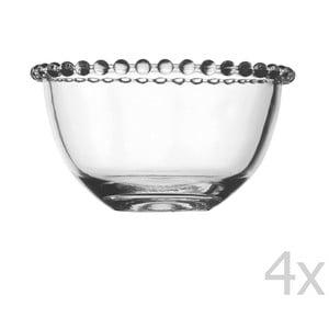 Zestaw 4 misek Pearls, 13 cm