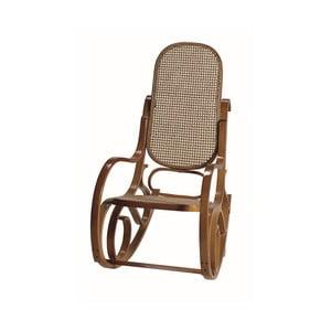 Fotel bujany z jasnobrązową konstrukcją Geese Ginger