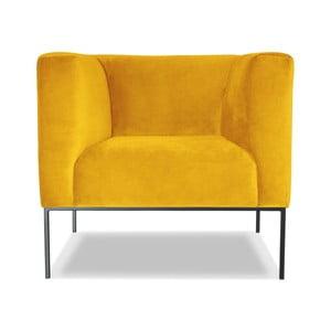 Żółty fotel Windsor &Co. Sofas Neptune