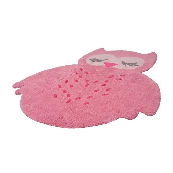 Różowy dywan dziecięcy Nattiot Sweet Pepa, 95x120 cm