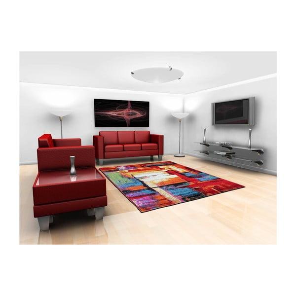 Dywan Farbles Red, 200x290 cm