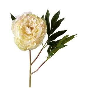 Sztuczny kwiat Peony Cream