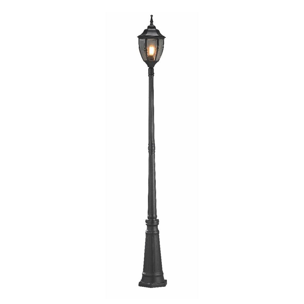 Czarna lampa stojąca Markslöjd Jonna, ø 20,5 cm