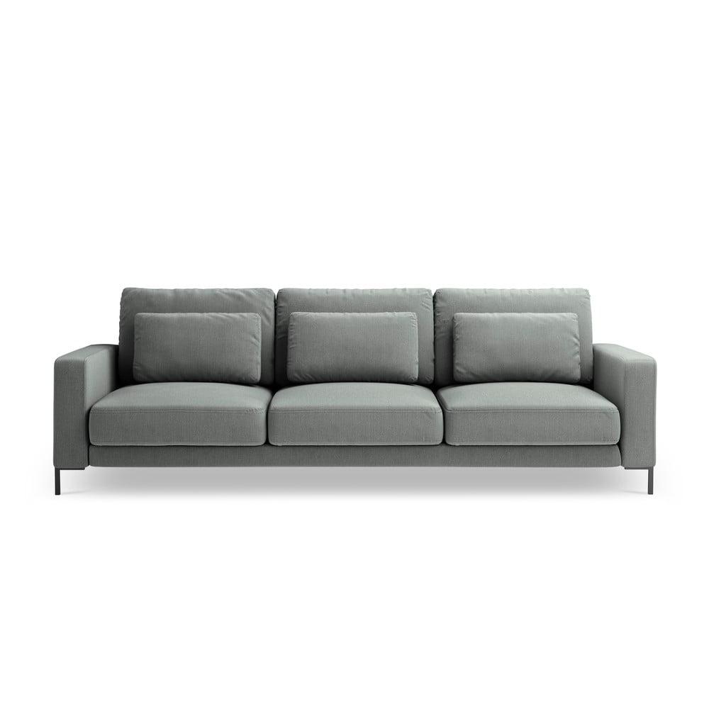 Szara sofa Interieurs 86 Seine, 220 cm