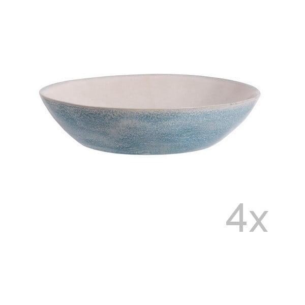 Zestaw 4 głębokich talerzy Falassarna, 21,5 cm
