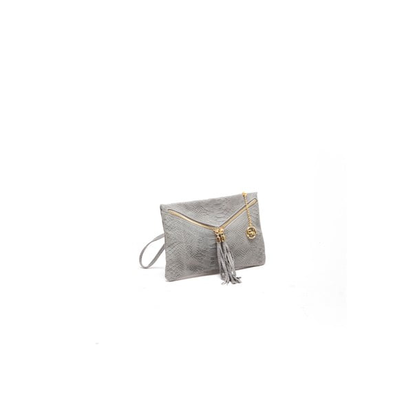 Skórzana torebka Tina 808 Grigio