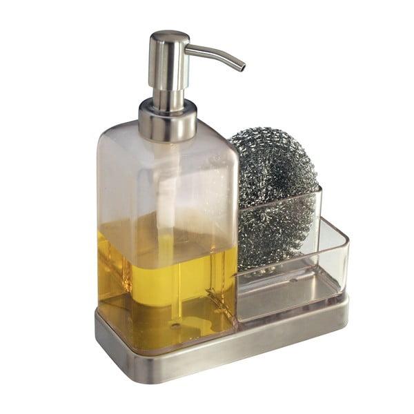 Pojemnik na gąbki i dozownik do mydła iDesign Forma