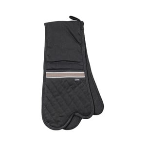 Czarna podwójna łapka kuchenna Ladelle Professional Series