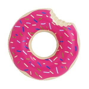 Dmuchane koło w kształcie donuta Strawberry