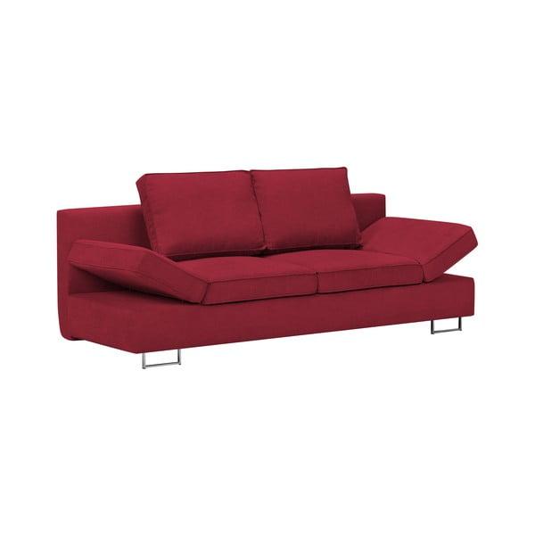 Czerwony 2-osobowa sofa rozkładana Windsor & Co Sofas Iota