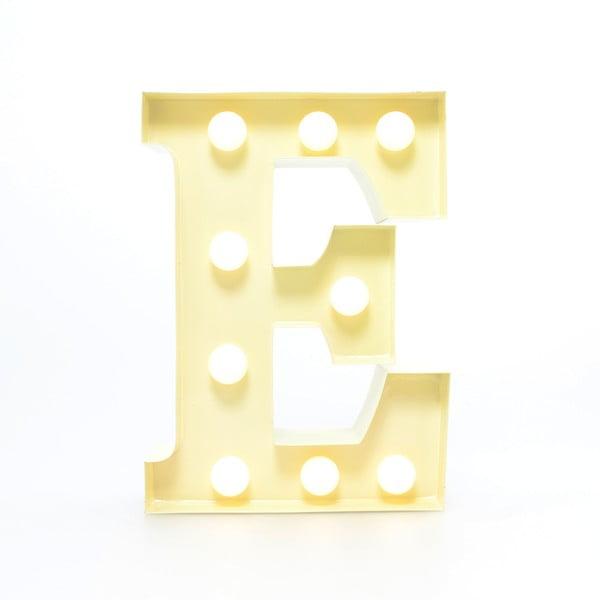 Światło dekoracyjne Carnival E, waniliowe