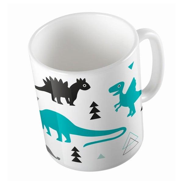 Ceramiczny kubek Cute Dinosaurus, 330 ml