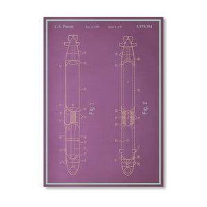 Plakat Submarine, 30x42 cm