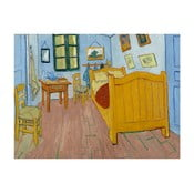 Obraz Vincenta van Gogha - The Bedroom, 60x45 cm