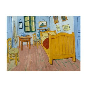 Reprodukcja obrazu Vincenta van Gogha The Bedroom, 40x30 cm