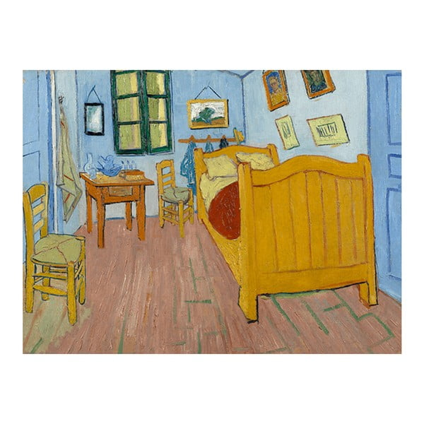 Reprodukcja obrazu Vincenta van Gogha – The Bedroom, 40x30 cm