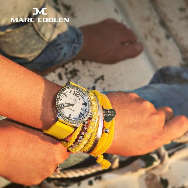Zegarek damski Marc Coblen z dodatkowym paskiem i obręczą P1