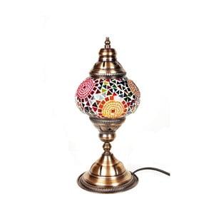 Szklana lampa Homemania Oriental Sun, ⌀13cm