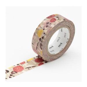 Taśma dekoracyjna washi MT Masking Tape Champignons