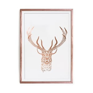 Obraz Really Nice Things Golden Deer, 40x60 cm
