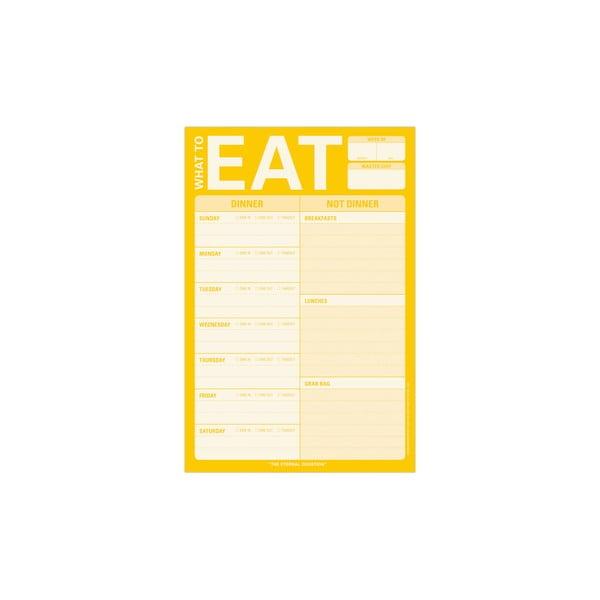 Dzienniczek jedzeniowy What To Eat