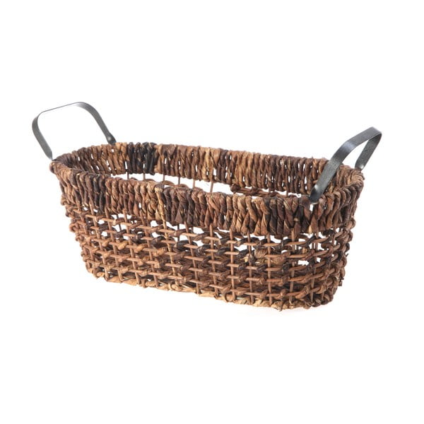 Wiklinowy koszyk Oval Wicker, 37 cm