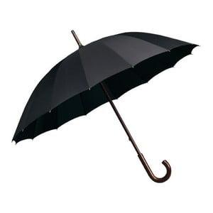 Czarny parasol Falconetti Elegance