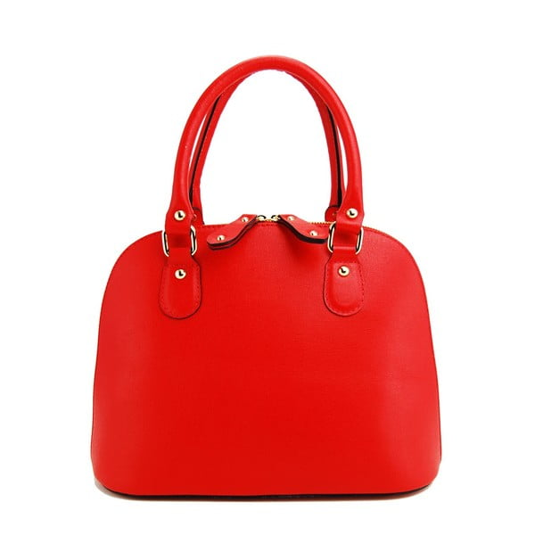 Skórzana torebka Cheesa Rosso