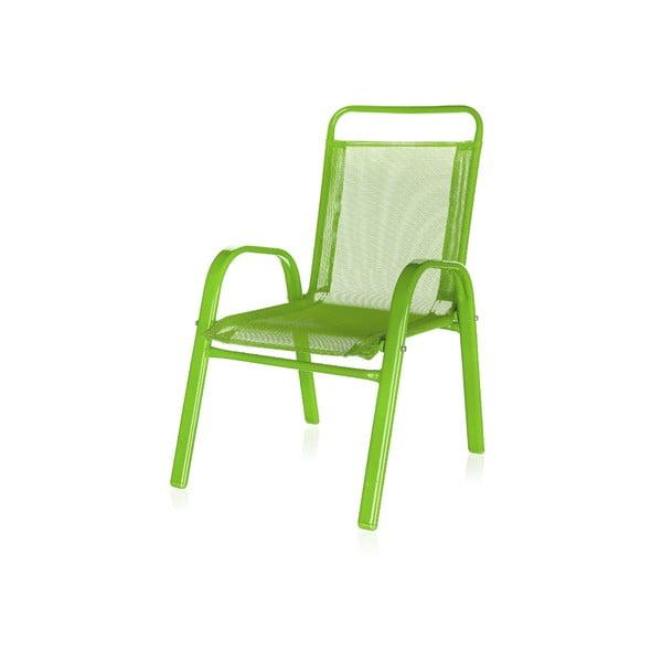 Dziecięce krzesło ogrodowe Kids, zielone