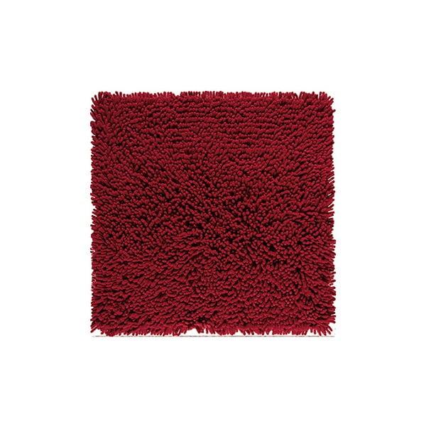 Dywanik łazienkowy Nevada 60x60 cm, bordowy