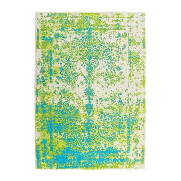 Dywan Aztec 494 Green Blue, 80x150 cm