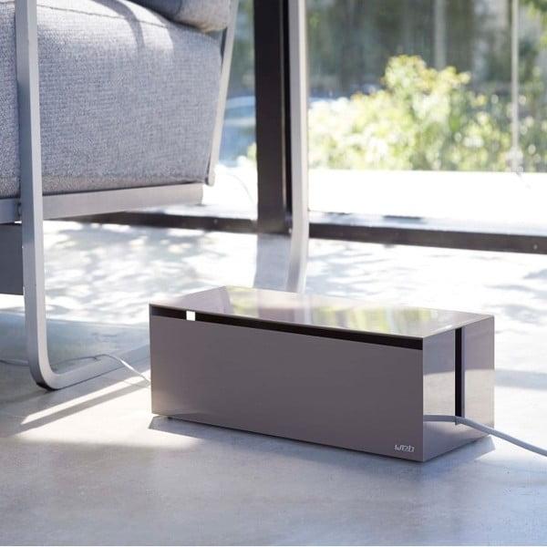 Ciemne pudełko na ładowarki Yamazaki Web Cable Box
