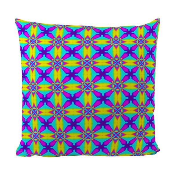 Poduszka Neon Kaleidoscop, 50x50 cm